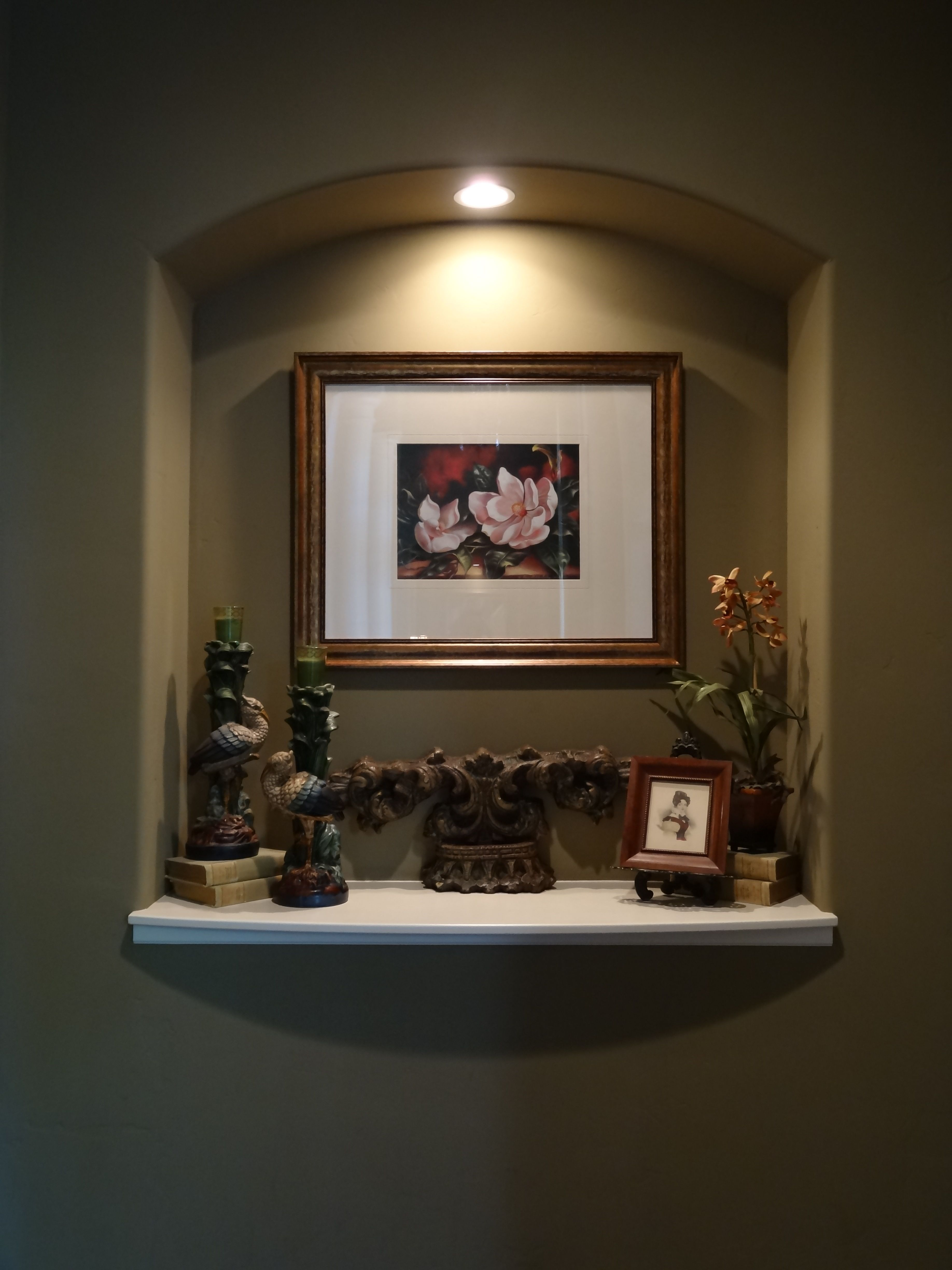 This makes an nice idea for a wall niche