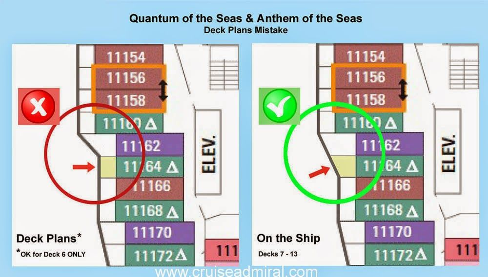 Anthem Of The Seas Cabin Information Anthem Of The Seas Best Cruise Deck Plans