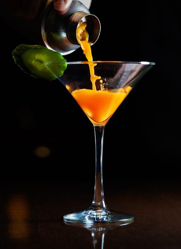 The American Club's Carrot 43 Martini