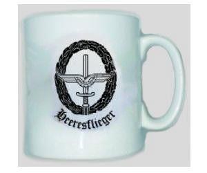Tasse Heeresflieger / mehr Infos auf: www.Guntia-Militaria-Shop.de