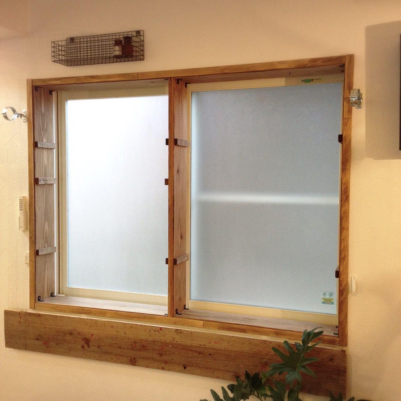 部屋の印象をガラッと変える木製窓枠をdiyしてみた Roomie ルーミー 窓枠 窓枠diy 内窓 Diy