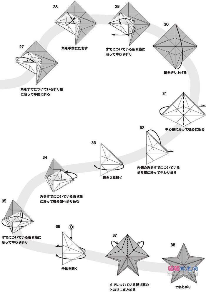Origami Stars 3 Diy Pinterest Origami Stars Origami And Craft