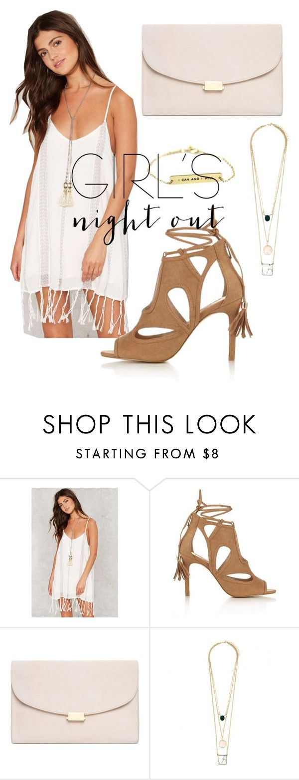 """Girls night out"" by mpeeler ❤ liked on Polyvore featuring Miss Selfridge, Mansur Gavriel and girlsnightout"