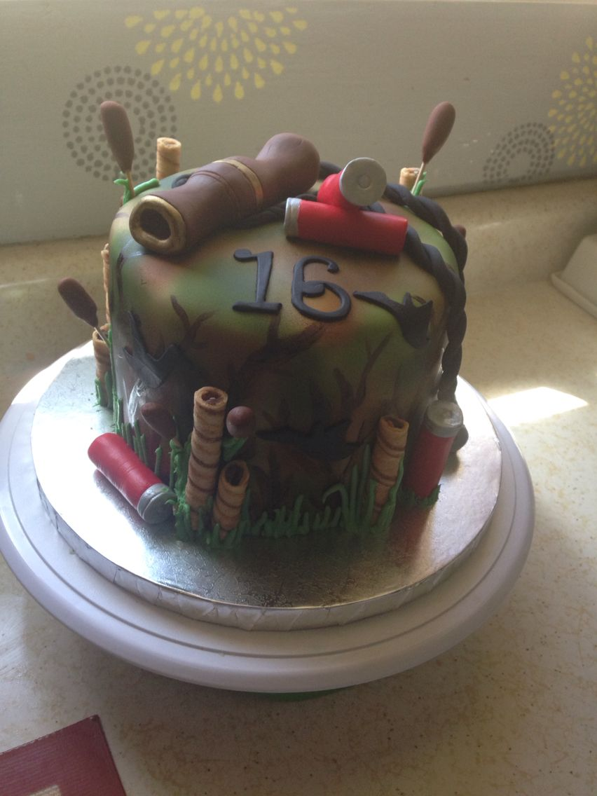 Duck Hunting Cake By Corinne S Confections Duck Hunting