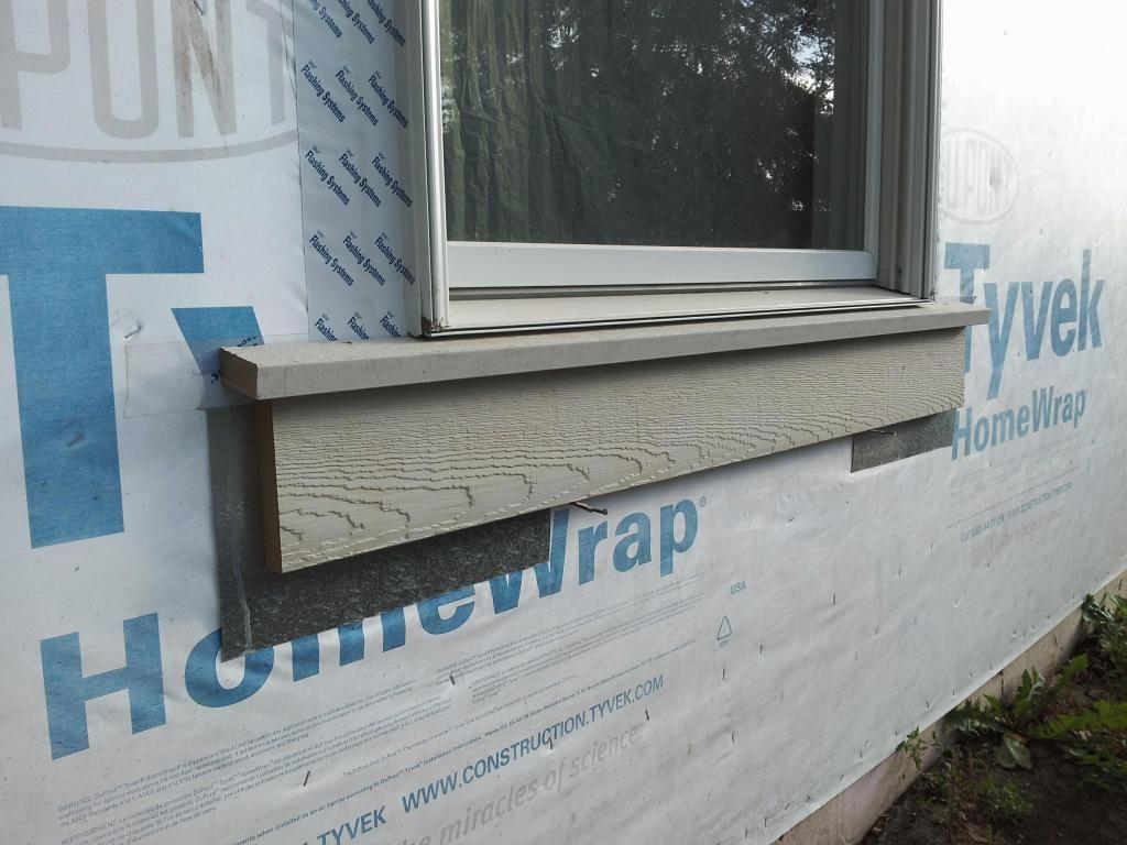 House wooden window design  exterior window trim proportion to siding size  windows siding
