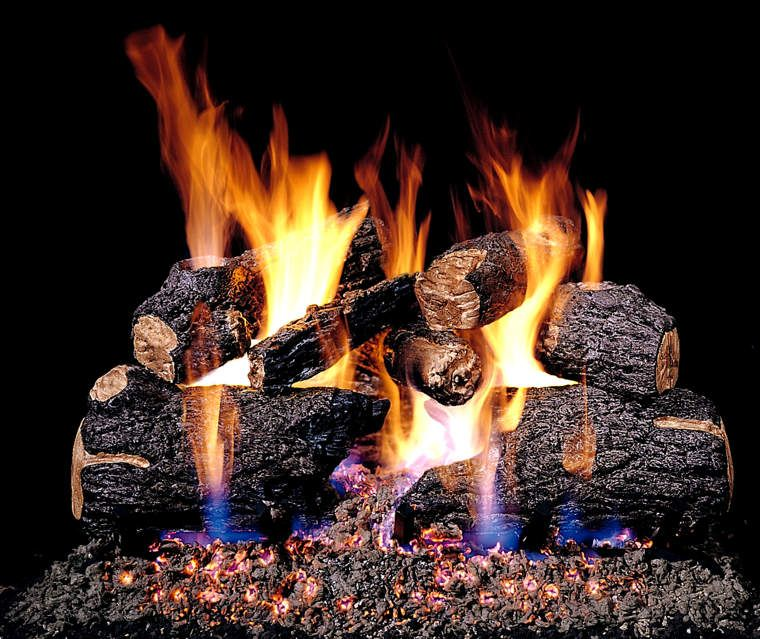 IN | Gas Fireplace Logs & Glass | Pinterest | Gas logs
