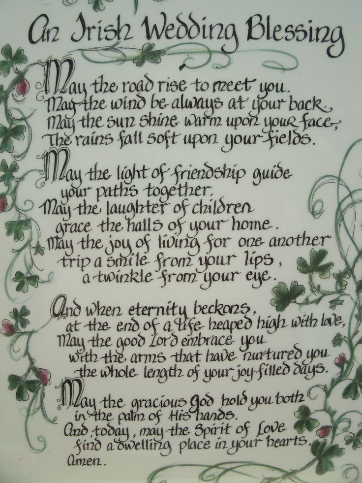 Explore Irish Wedding Blessing And More