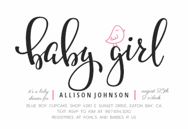Baby Gril Baby Shower Invitation Template Free Greetings Island Boy Baby Shower Invitations Templates Baby Shower Invitations For Boys Baby Shower Invitations Design