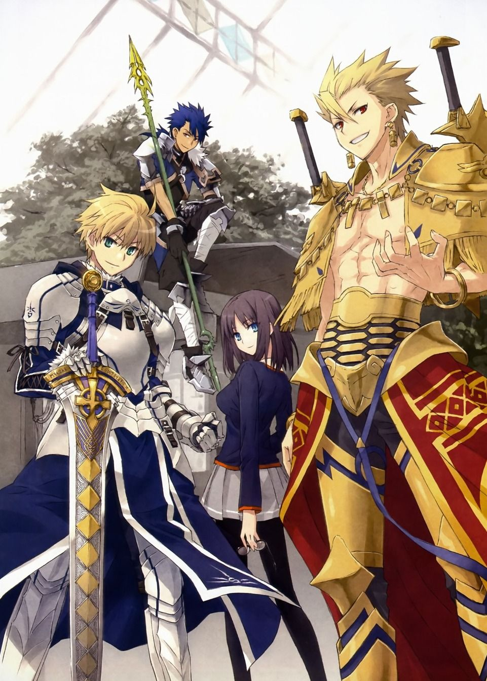 Fate, as it should be! (As a reverse harem? Lol i mean i