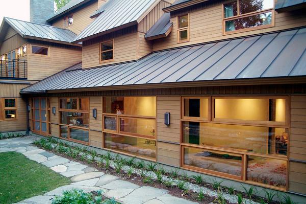 Roof Overhangs Keep Energy In For Comfortable Climates Roof Design Metal Roof Roofing