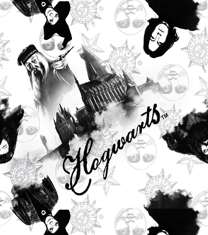 Harry Potter Scenic Allover Fleece Fabric | Harry potter ...