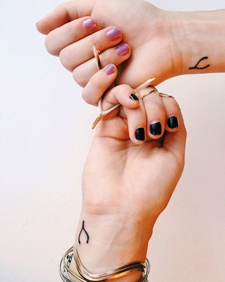 70 creative matching best friend tattoo ideas adorable