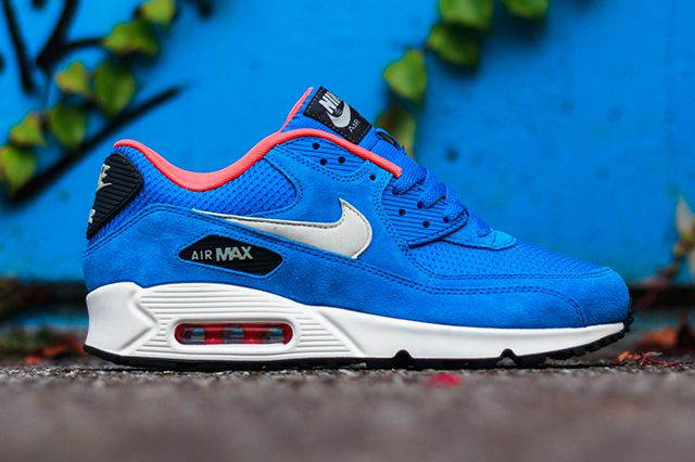 Nike Air Max 90 Pompes En Daim Orange