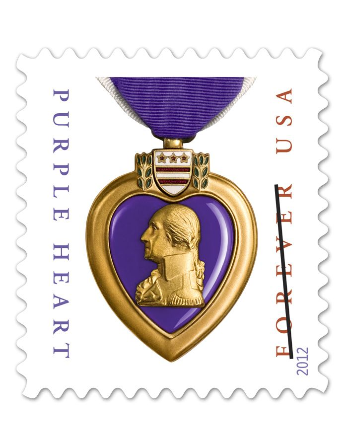 Purple Heart Medal (Forever)    remembering my soldier this holiday season, send your holiday cards with a reason