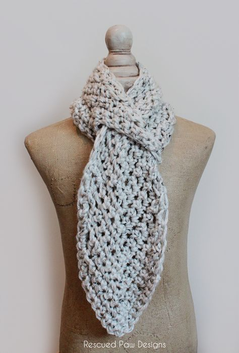 Crochet Chevron Scarf Pattern Crochet Patterns And Projects