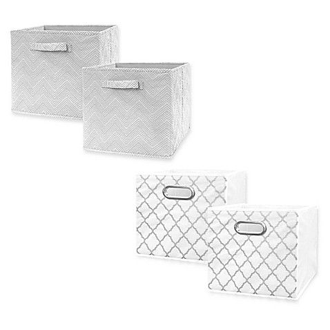 Market Village Collapsible 12 Inch Storage Cube (Set Of 2)