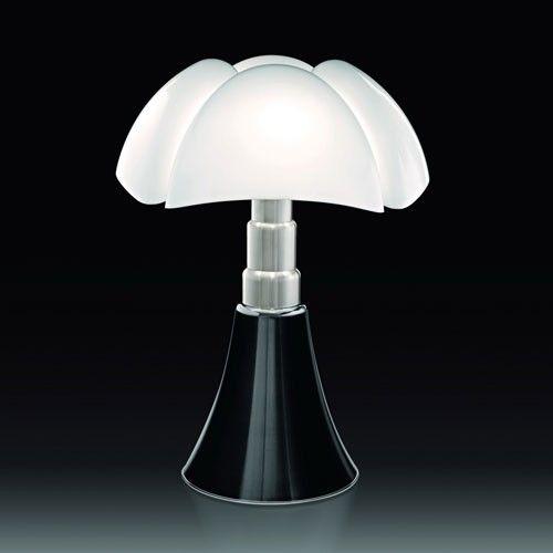 Lampe A Poser Pipistrello Noir Brillant De Martinelli Luce Lamp Lampe A Poser Lampe Pipistrello