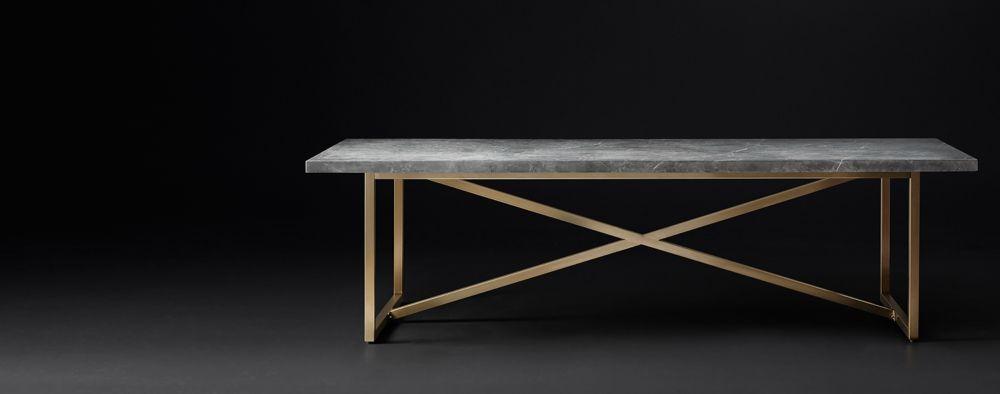 Torano Marble Rectangular Dining Table Dining Table Rectangular Table Table