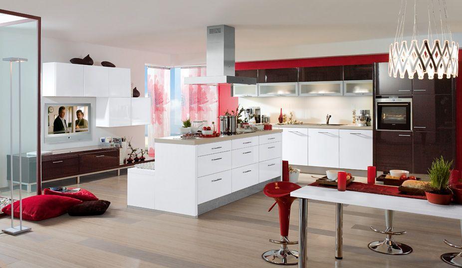 Modell Tokio/Honshu Weiße Küchen Pinterest Interiors - Küchen Weiß Hochglanz