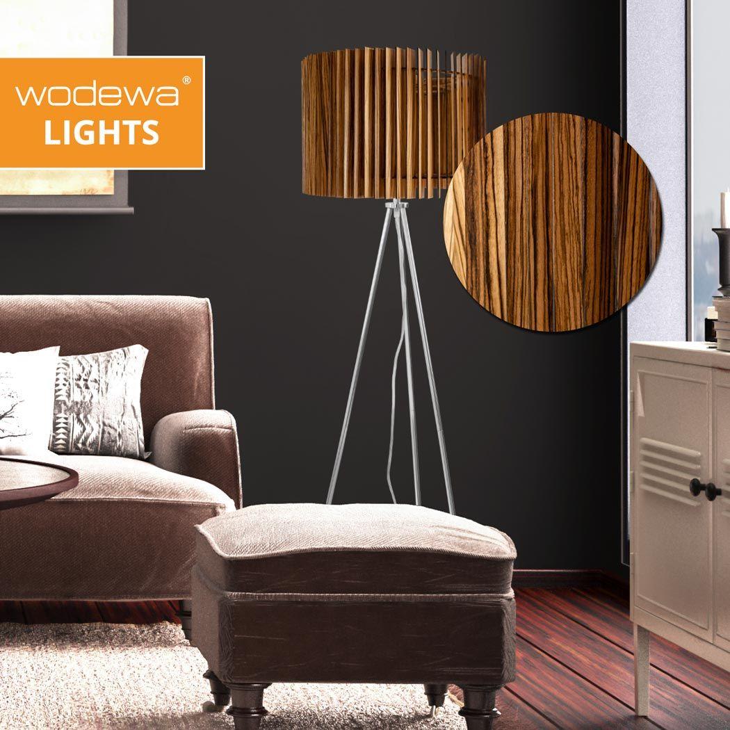 Pin Auf Stehlampen Aus Holz