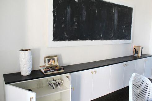The Best Ikea Hacks Of All Time Floating Cabinet Shelves Akurum