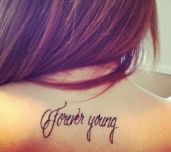 Super Cute Girly Quotes: Super Cute Tattoo . Love The Writing @Heather Schmit