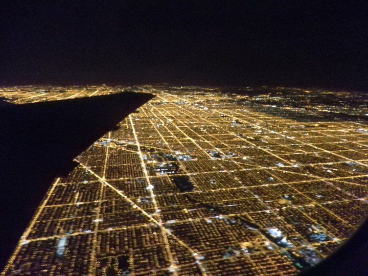 Chicago by night...