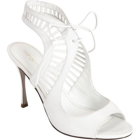 Sergio Rossi Cutout Halter Strap Sandal. I wish I could wear 4-inch heels without cringeing.