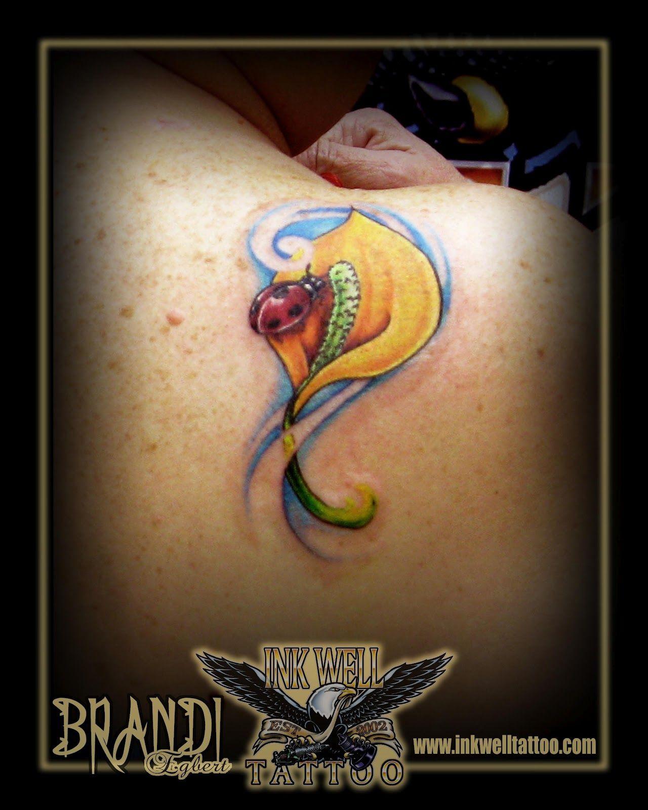 Brandi egbert ink well tattoo ladybug and peace lily www brandi egbert ink well tattoo ladybug and peace lily inkwelltattoo dhlflorist Image collections