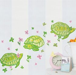 Lilly Pulitzer wall decals for a kids' room awww