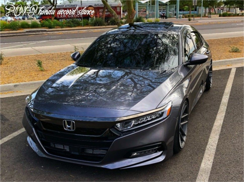 How Will 2018 Honda Accord Stance Be In The Future in 2020