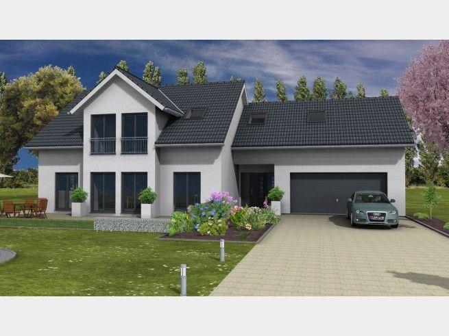 Einfamilienhaus Mit Garage : pin auf haus ~ Watch28wear.com Haus und Dekorationen