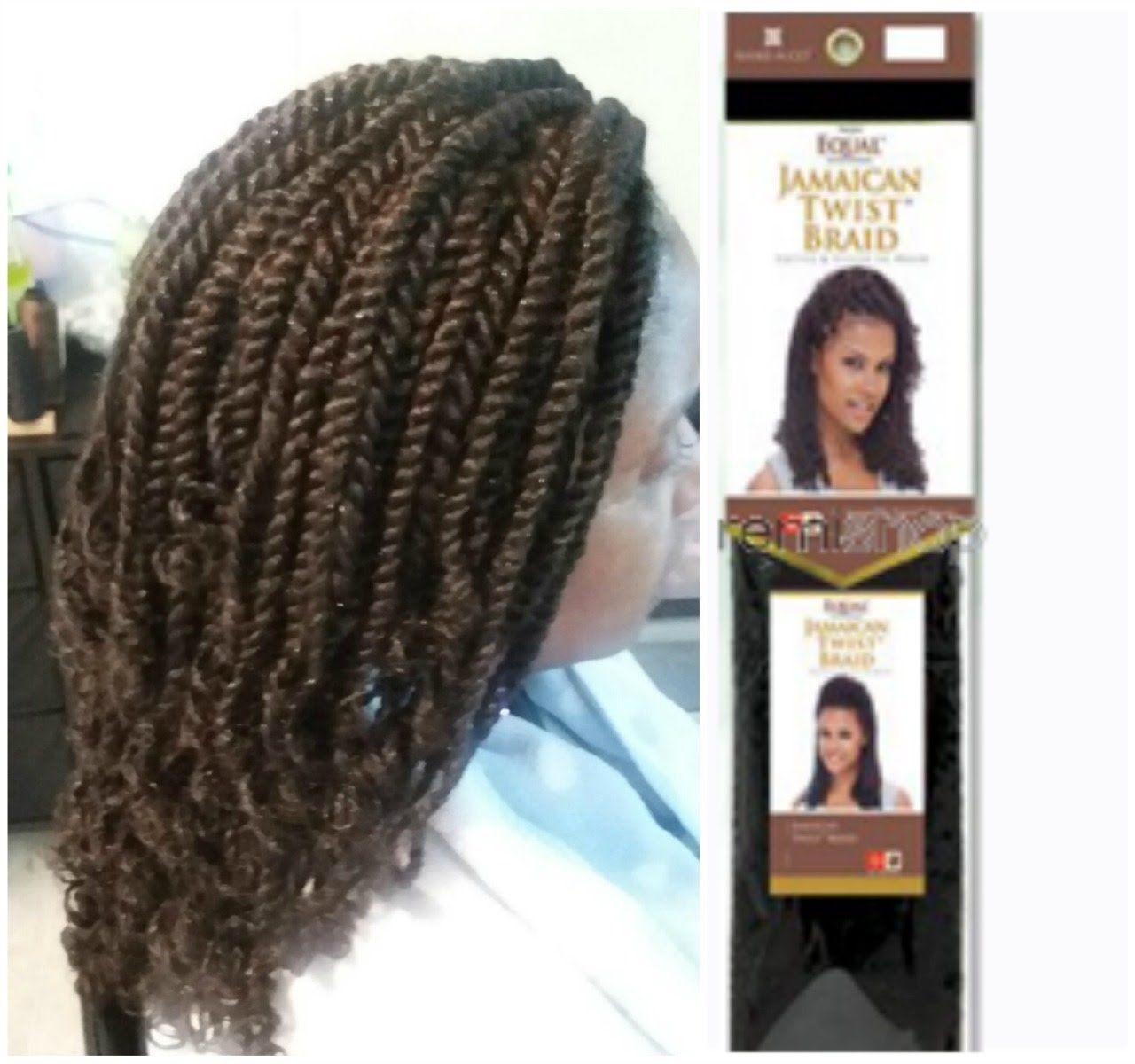 Jamaican Twists Hairstyles For Girls: Freetress Equal Jamaican Twist Braid