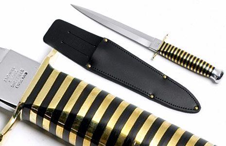 Wasp Pattern Commando Knife