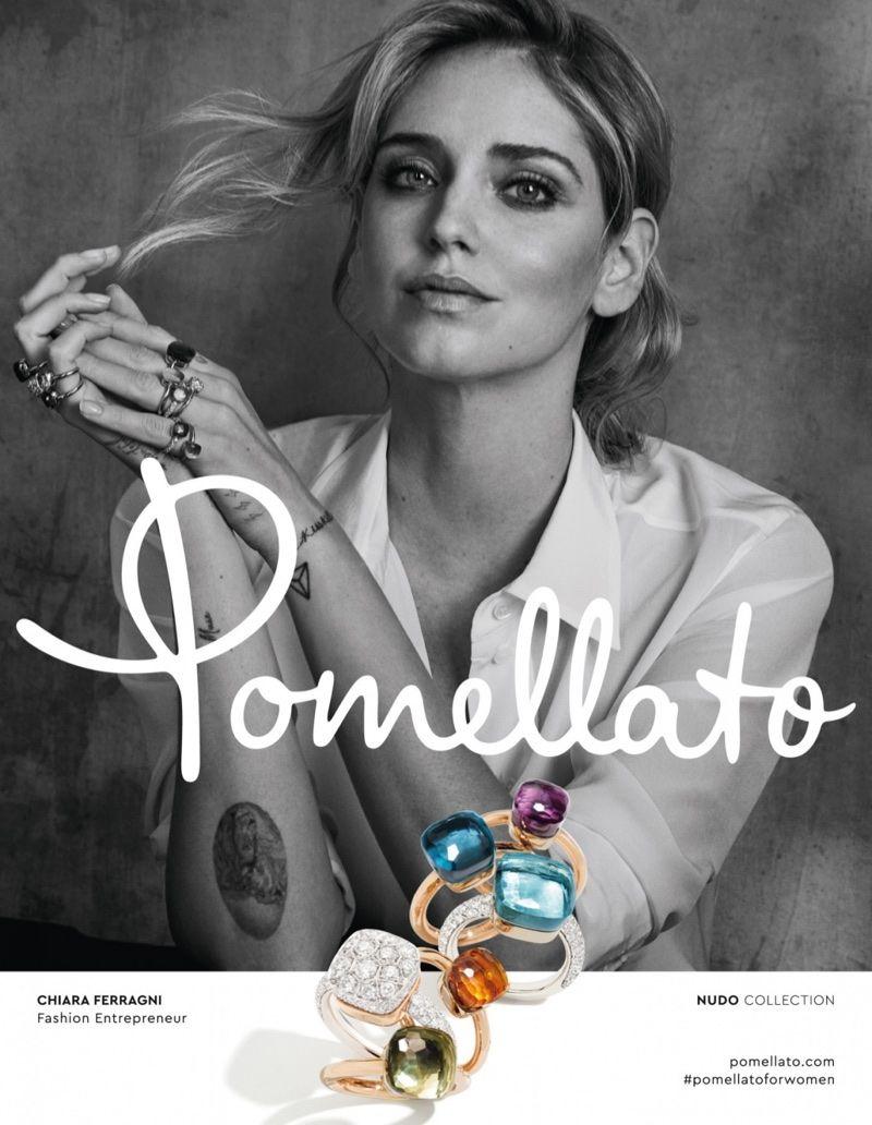 Chiara Ferragni Shines As the New Face of Pomellato Jewelry ...