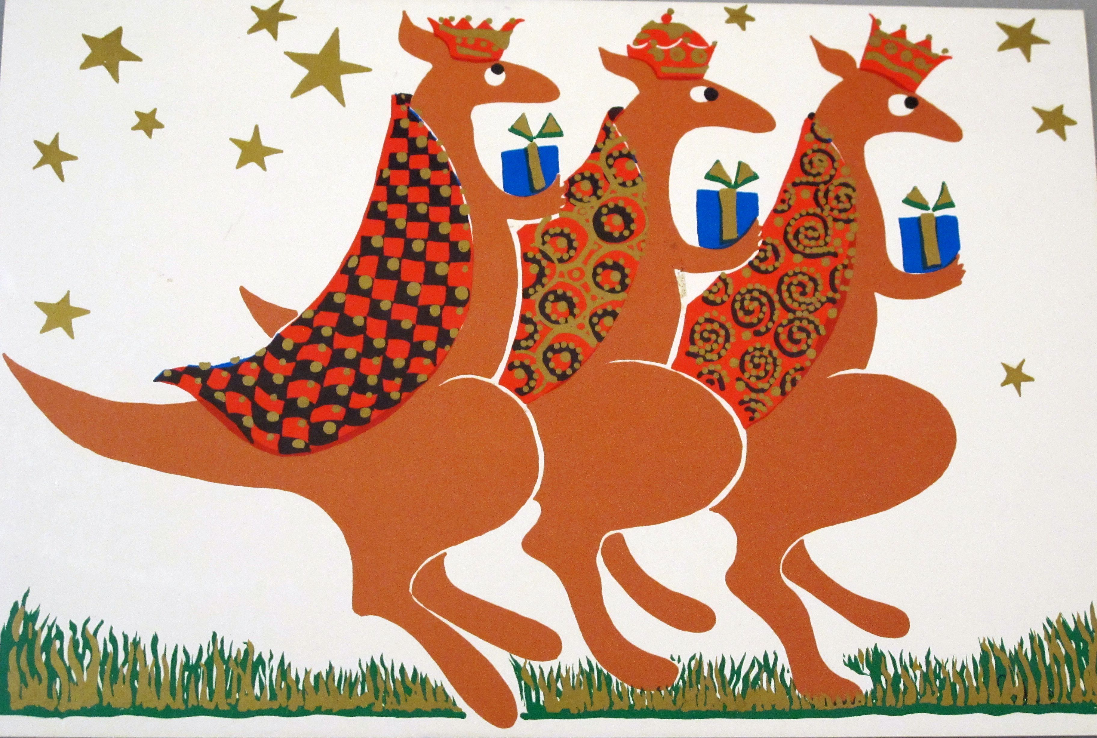 Image result for australian christmas cards linocut ideas image result for australian christmas cards m4hsunfo
