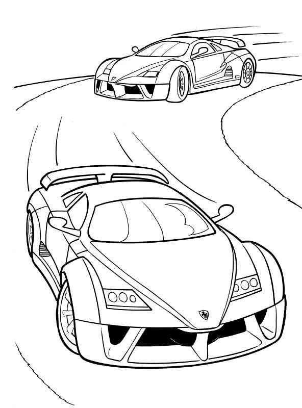 Auto Motorrad 50 Ausmalbilder Cars Coloring Pages Coloring Pages New Year Coloring Pages
