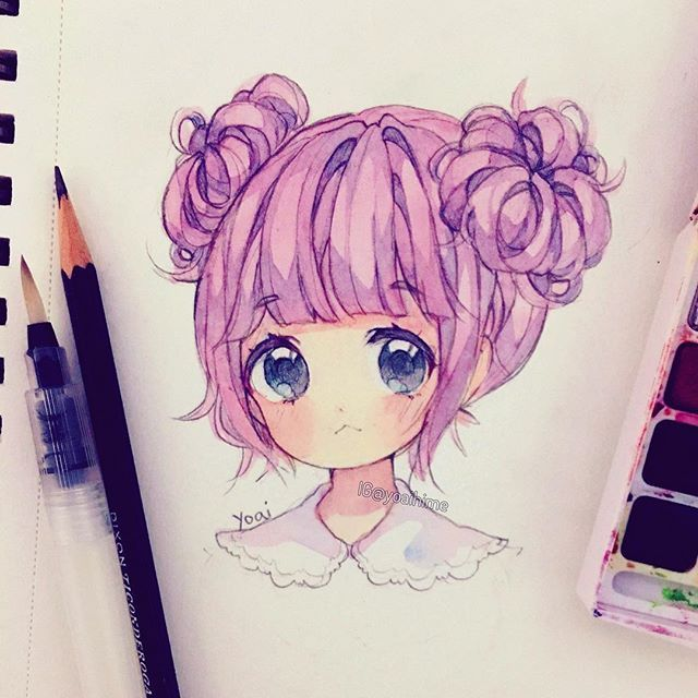 Photo of anime hair 2 buns – Google Search
