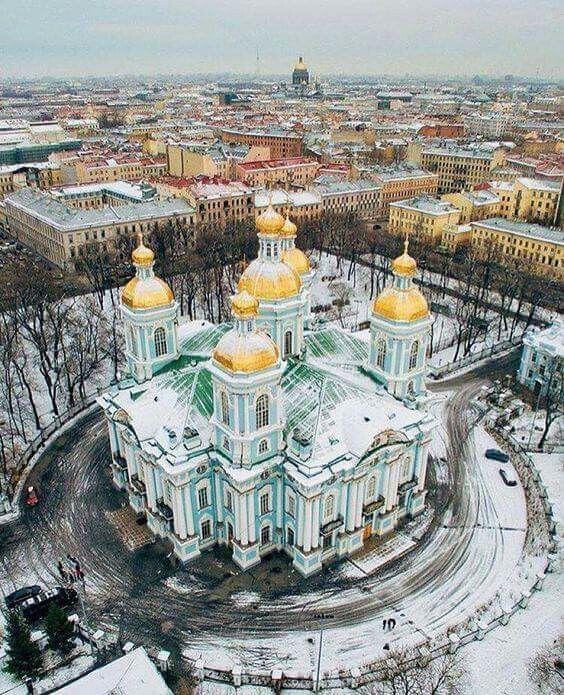 Catedral de San Nicolás. San Petesburgo, Rusia.