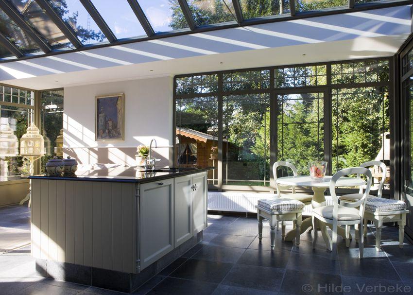 Woonveranda met prachtige landelijke keuken de mooiste verandas