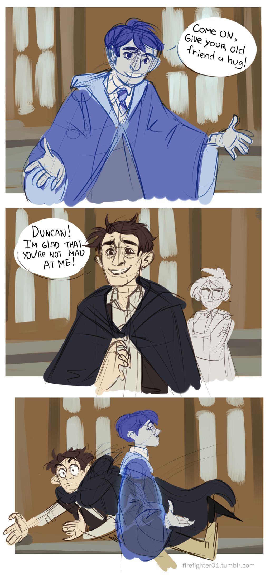 Hm Jacob And Duncan By Happy Eevee On Deviantart Hogwarts Mystery Harry Potter Comics Hogwarts Games