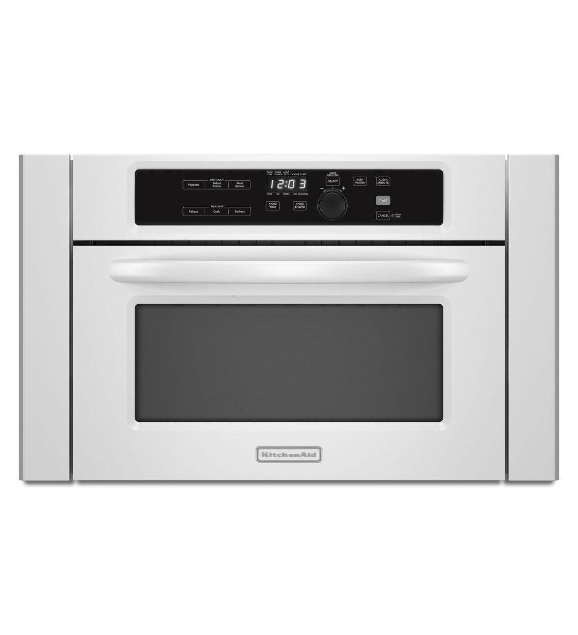 Kitchenaid 24 1000watt builtin microwave architect