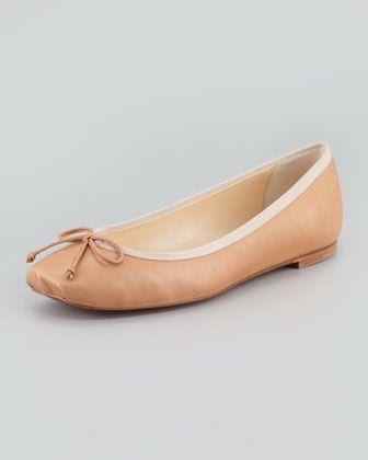 3f865599b8d Rosella Square-Toe Ballerina Flat