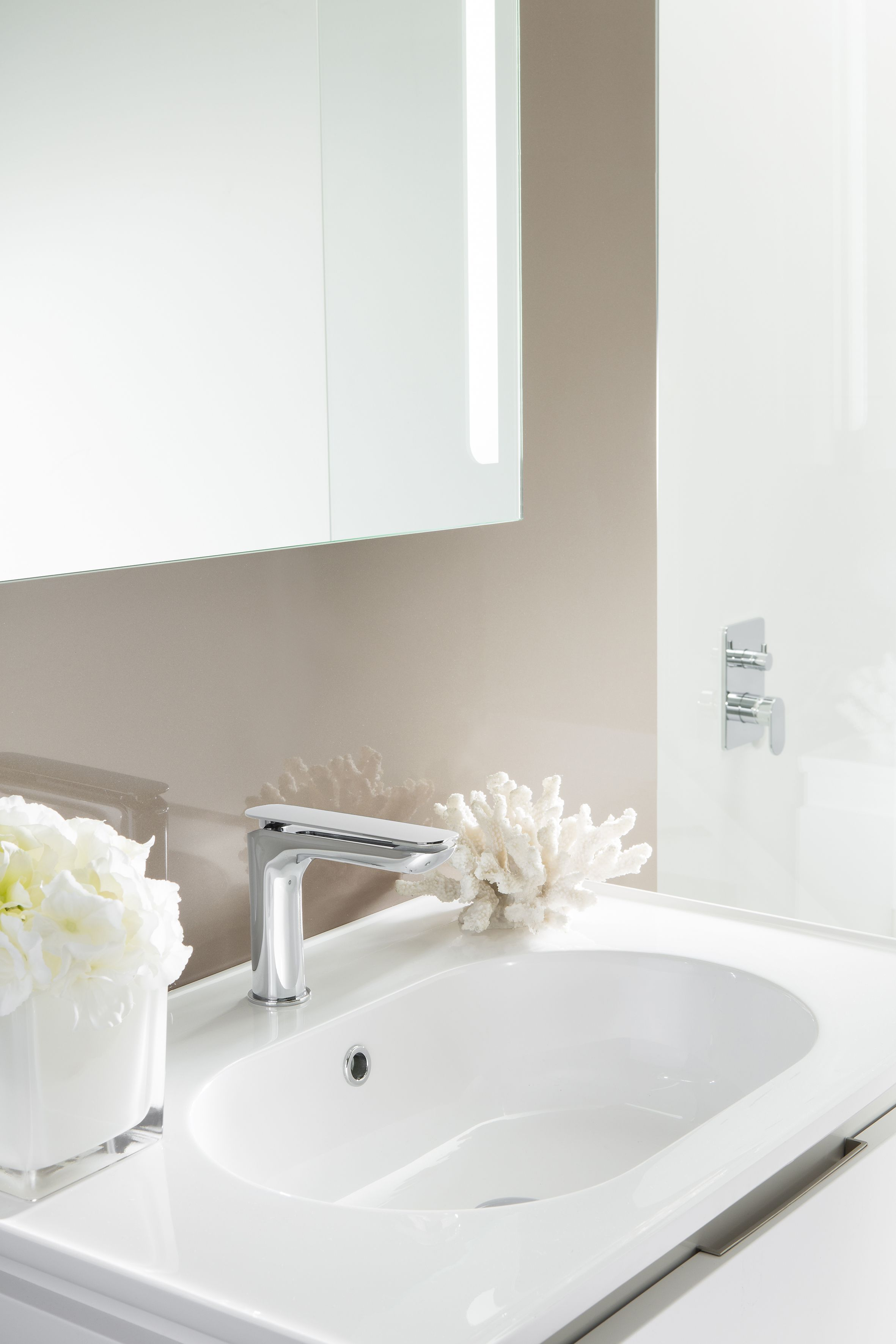 KH Zero 2 Mini Monobloc Bathroom Basin Tap from Kelly Hoppen at ...