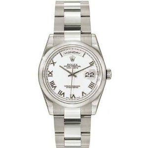 Rolex Day Date White Roman Dial Oyster Bracelet 18k White Gold Mens Watch 118209WRO (Watch)  http://www.amazon.com/dp/B001115D8G/?tag=iphonreplacem-20  B001115D8G