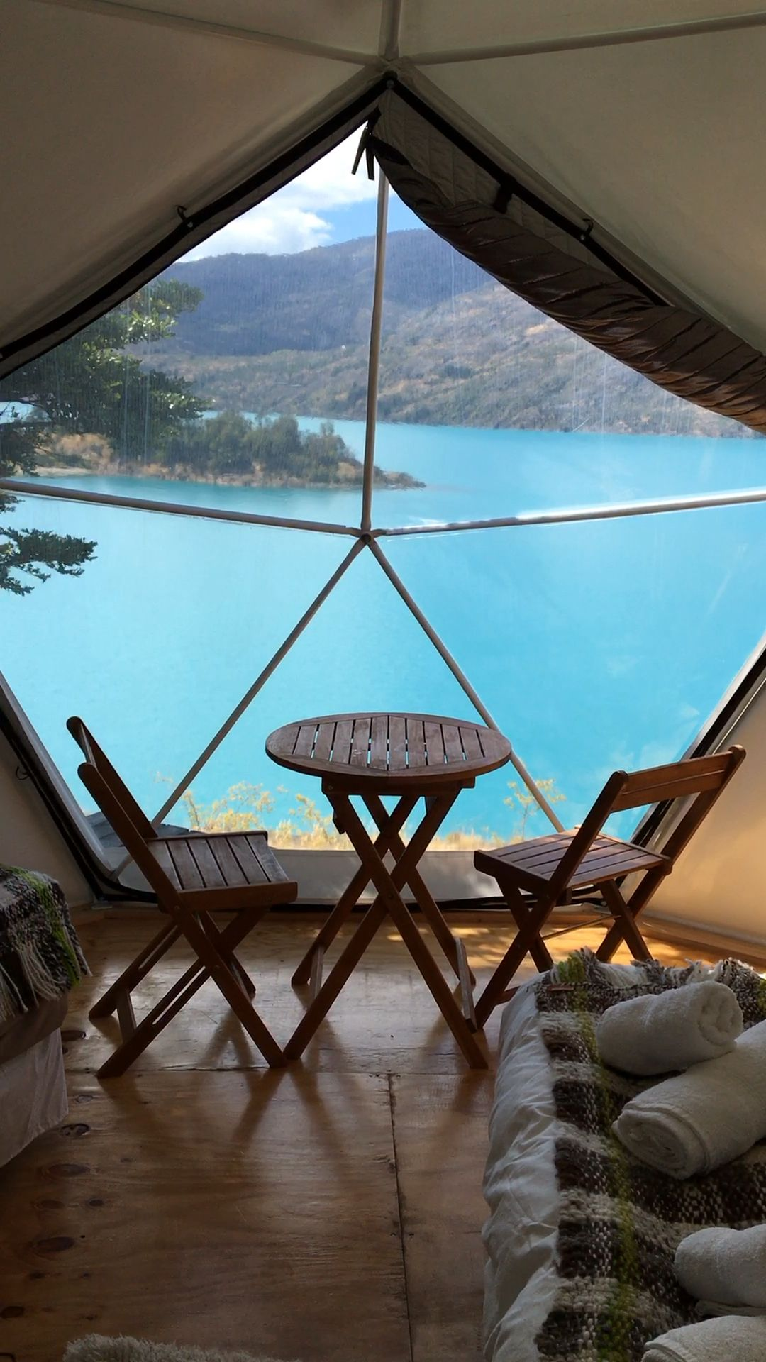 Pared Sur Eco Camp in Patagonia