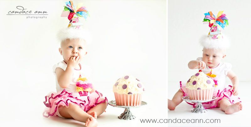 {With a Cherry on Top} Candace Ann Photography// Children Photographer// One Year Old