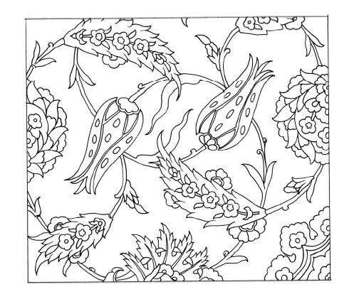 Embroidery Patterns Turkish Vector Motifs