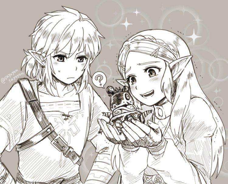 Epingle Par Cait Stewart Sur The Legend Of Zelda Dessin Zelda Zelda Dessin Jeux Video