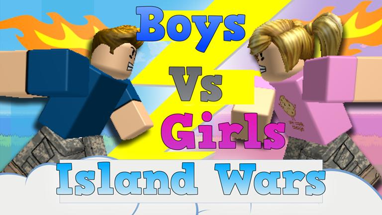 FREE ADMIN] Boys Vs Girls Island Wars - Roblox   Awesome